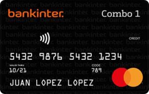 Tarjeta Mastercard Combo Bankinter