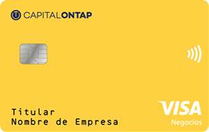 Tarjeta Visa Capital on Tap (solo Pymes y Autónomos)