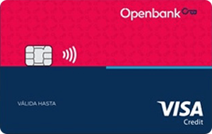 Tarjeta Visa Open Credit Openbank
