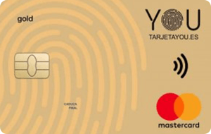 Tarjeta Mastercard YOU Advanzia Bank