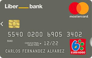 Tarjeta Mastercard Classic Liberbank